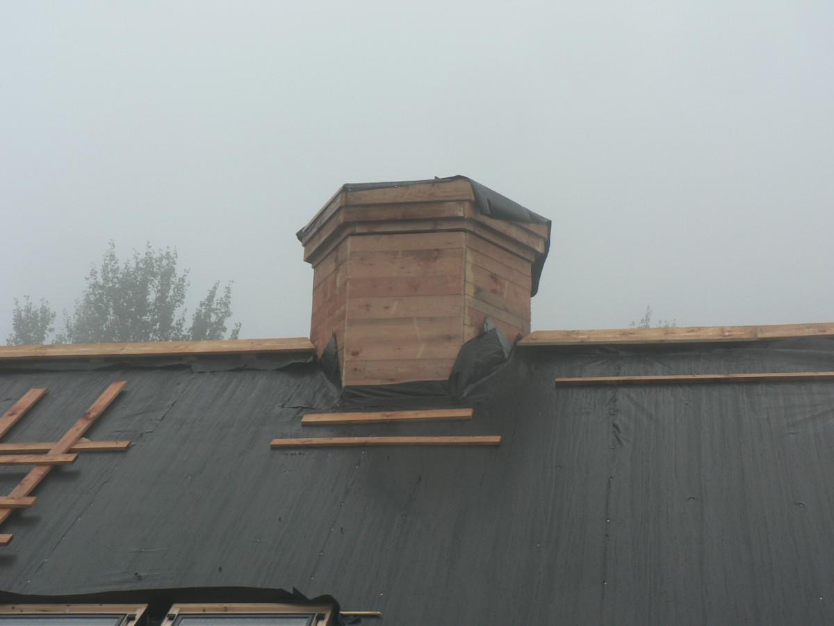 Střecha bytový dům Bedřichov